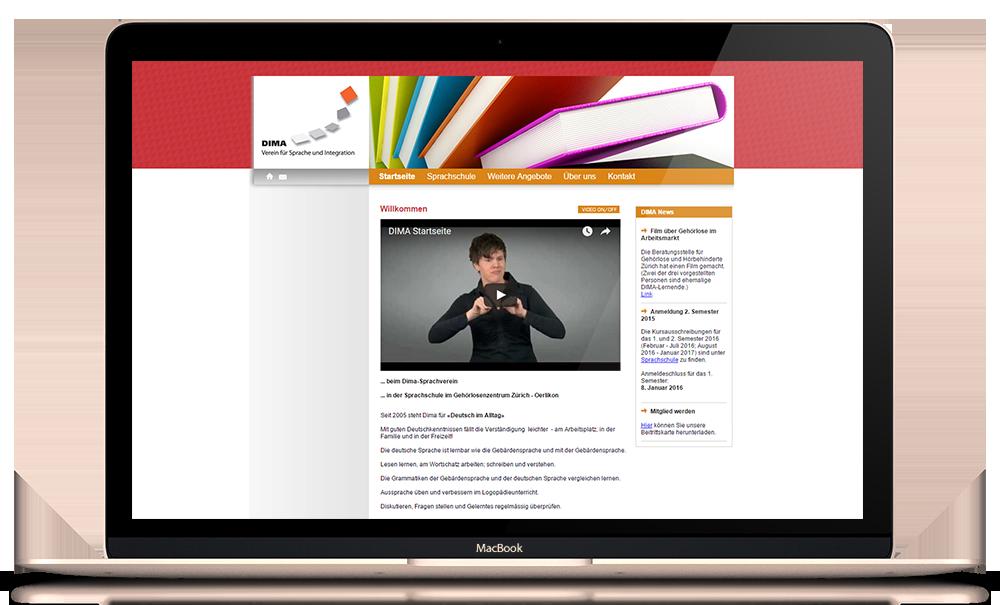 Webseite dima-glz.ch