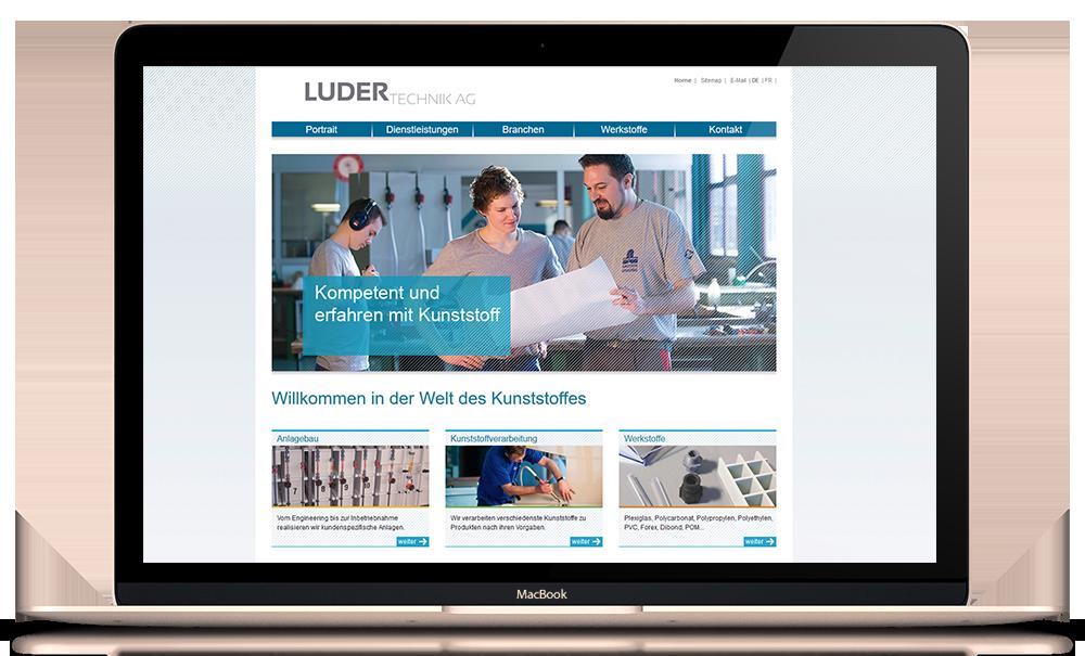 Moderne CMS Website: plastics.ch